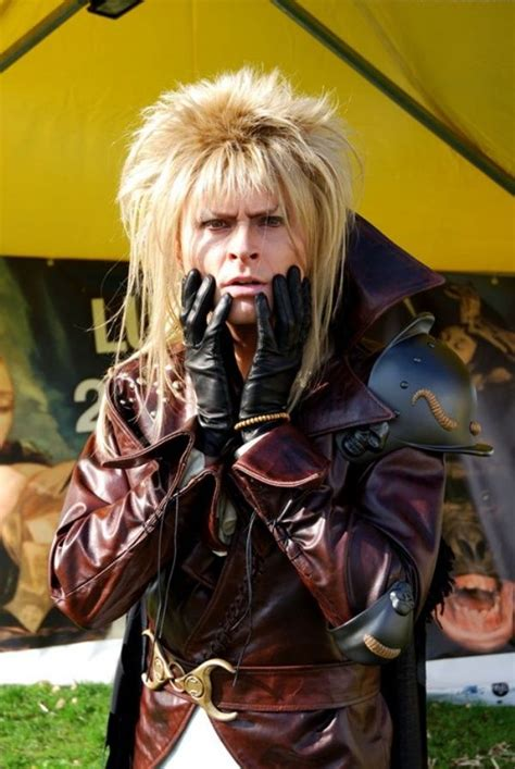 Jareth Proof There Is Cosplay For Anything Man All This Dude Is Missing Is A Baby And