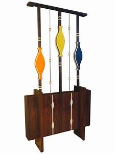 mid century modern art screen room divider plant chairish With best brand of paint for kitchen cabinets with modern wall sculpture art
