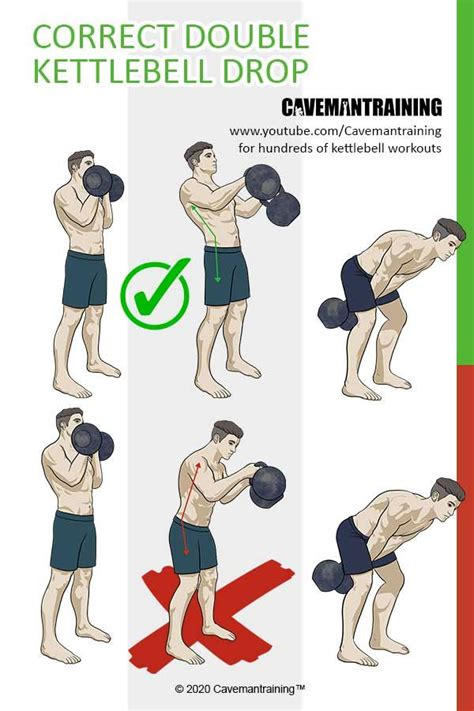 kettlebell lower swings drop correctly youtu perform protect learn weight