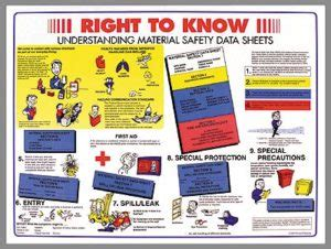 sds msds health safety environment
