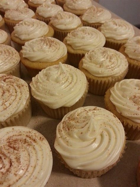 Bake until a toothpick comes out. RUM CHATA CUPCAKES!!!   Dessert recipes, Desserts, Rumchata recipes