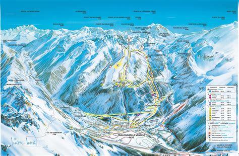 chalet des domaines de la vanoise pralognan la vanoise plans des pistes domaine skiable sur pralognan la vanoise
