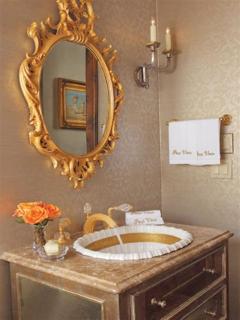 Gold Plated Bathroom Fixtures by Photo Page Hgtv