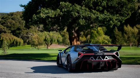 Download Wallpaper 1920x1080 Lamborghini, Veneno, Supercar