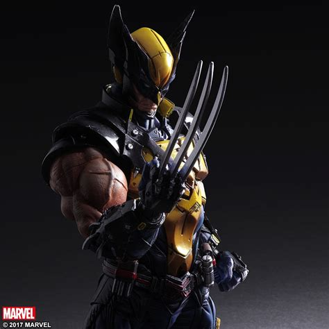 Marvel Black Panther Wallpaper Hd Marvel Universe Variant Play Arts Kai Wolverine Square Enix Online Store