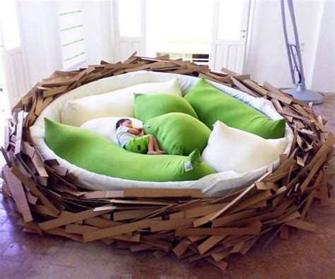 birds nest bed incredible