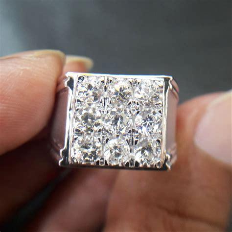 jual cincin pria berlian banjar 1 65 carat 0396 ring emas cincin dan batu batu permata di lapak