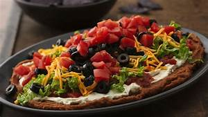 Seven Layer Bean Dip Recipe Pillsbury com