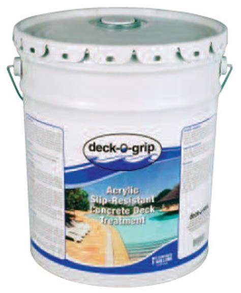 deck  grip acrylic slip resistant concrete deck