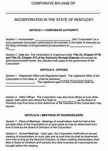 cute corporate bylaws template images example resume With corporate bylaw template