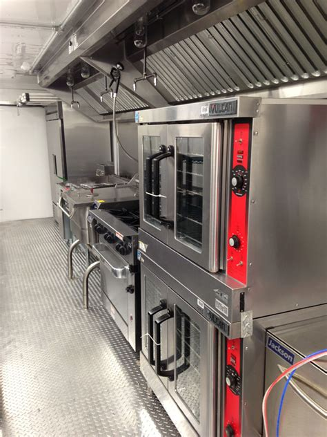 28foot Used Kitchen Trailer For Sale  Us Mobile Kitchens
