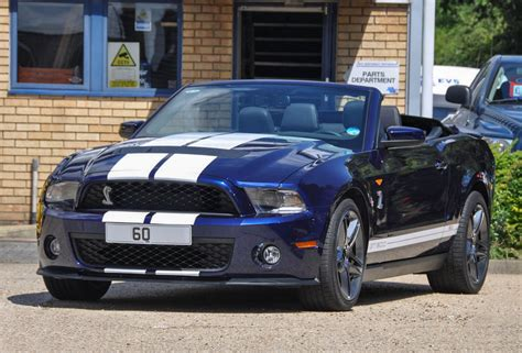 ford gt mustang shelby convertible
