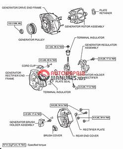 Free Download  Toyota Yaric Repair Manuals  Charging System