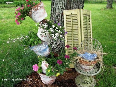 Create Flea Market Garden Vignette Gardening