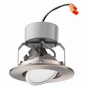 Lithonia lighting in brushed nickel integrated led