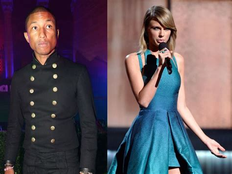 pharrell williams thinks taylor swift  awesome
