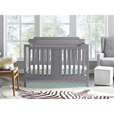 gray convertible crib dorel 2 in 1 convertible crib gray