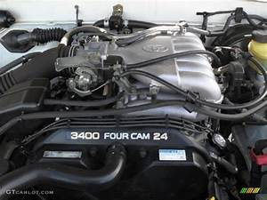 2000 Toyota Tacoma V6 Prerunner Extended Cab 3 4 Liter Dohc 24