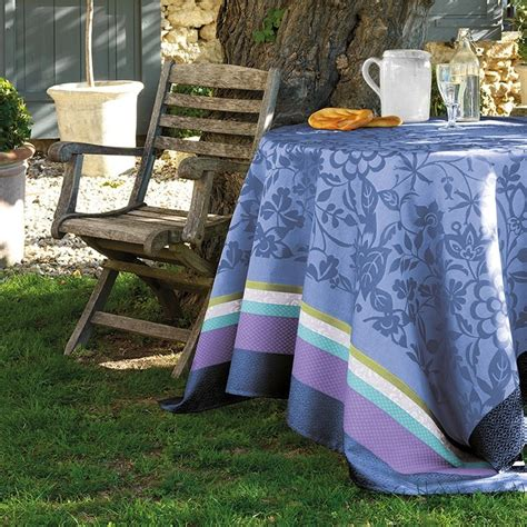 nappe de table provencale bleu