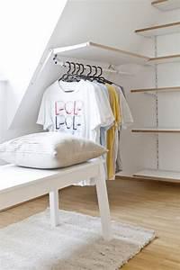 Kleiderstange An Wand : wohnideen dachschr ge ~ Markanthonyermac.com Haus und Dekorationen