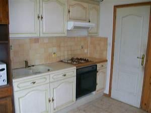 cuisine ceruse blanc d coration salle manger ancienne With meuble de salle a manger avec cuisine aménagée prix