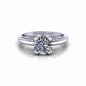 unique solitaire engagement ring jewelry designs With unique wedding bands for solitaire rings