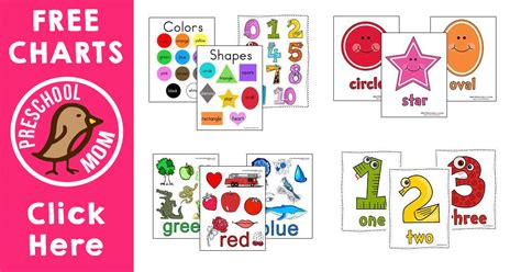free preschool videos free printable classroom charts 302