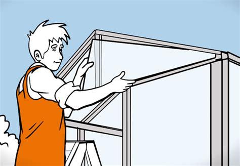 Gewächshaus Fenster Einbauen by Gew 228 Chshaus Selber Aufbauen Anleitung Obi