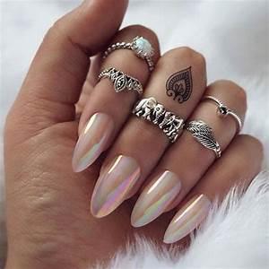 18 best chrome nails designs ideas 2017 fabulous