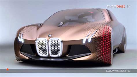 voiture du future bmw vision next 100 2016 d 233 cryptage de la voiture du futur