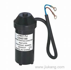 China Motor Starting Capacitor  Cd60-9b