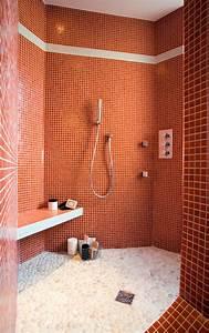 Receveur Salle De Bain : douche l 39 italienne adaptable tous les styles de salles de bains ~ Melissatoandfro.com Idées de Décoration