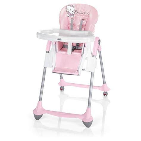 chaise haute bebe fille hello chaise réglable convivio achat vente