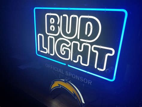 bud light neon sign neon signs bud light shop collectibles daily