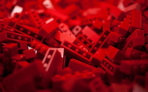 Red Legos Toys Macro Wallpapers Hd Desktop And Mobile