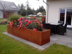 Terrasse mit sichtschutz so schaffst du privatsphare for Hochbeet terrasse