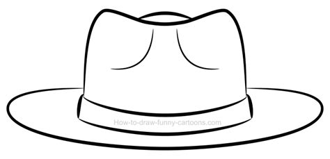 draw  clipart hat