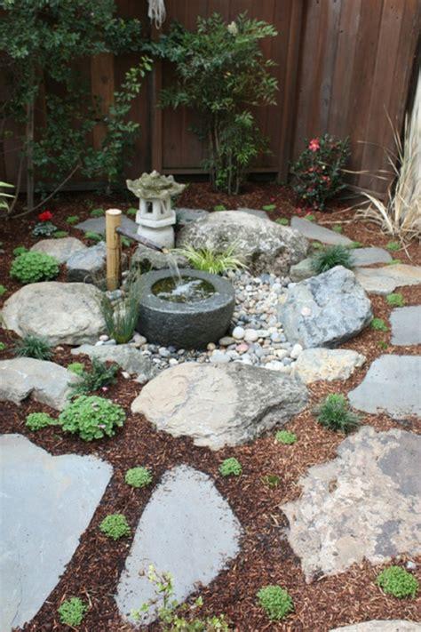 moderner steingarten holen sie die japanische kultur zu