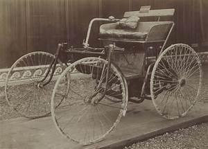 La Première Voiture : file la premi re voiture automobile de gottlieb daimler par jules beau en 1899 un quadricycle ~ Medecine-chirurgie-esthetiques.com Avis de Voitures