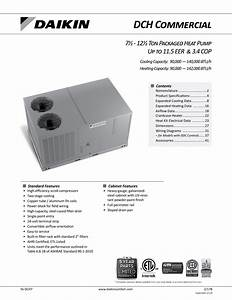 3 Ton Package Heat Pump Wiring Diag