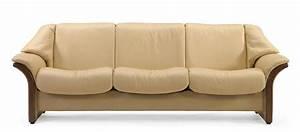 stressless eldorado lowback sofa modern recliner leather With canapé stressless
