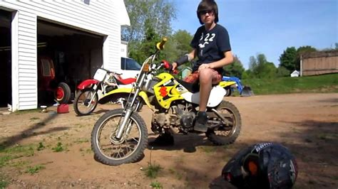 Suzuki Drz 110 Pit Bike Youtube