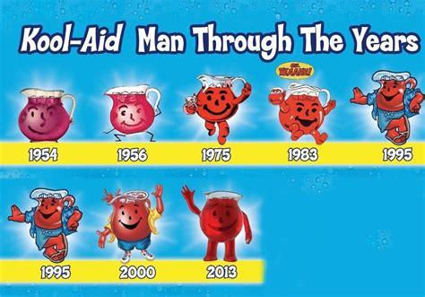 """Evolution Of The Kool-aid Man. """"drinking The Kool-aid"""