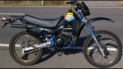 Suzuki Ts 50 Xk 70ccm Sound And Kick Start
