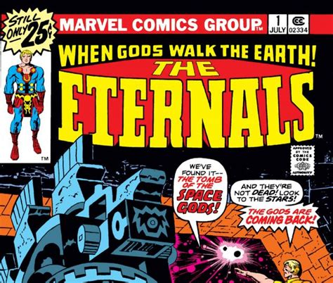 Eternals (1976) #1 | Comic Issues | Marvel