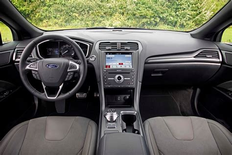 ford fusion 2017 interior ford fusion reviews and rating motor trend