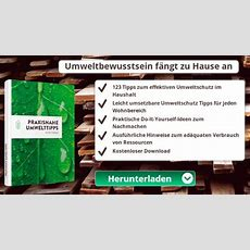 Umweltbrief 123 Praxisnahe Umwelttipps, Denn