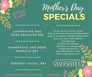 Serenity Salon & Day Spa Specials | Serenity Salon & Day Spa