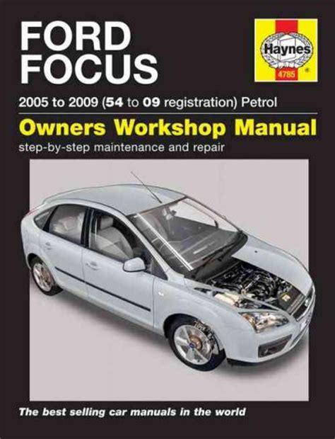 ford focus petrol   haynes service repair manual