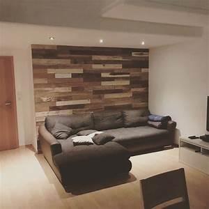 Wohnzimmer Wand Holz : wandverkleidungen holz rustikal bs holzdesign ~ Lizthompson.info Haus und Dekorationen